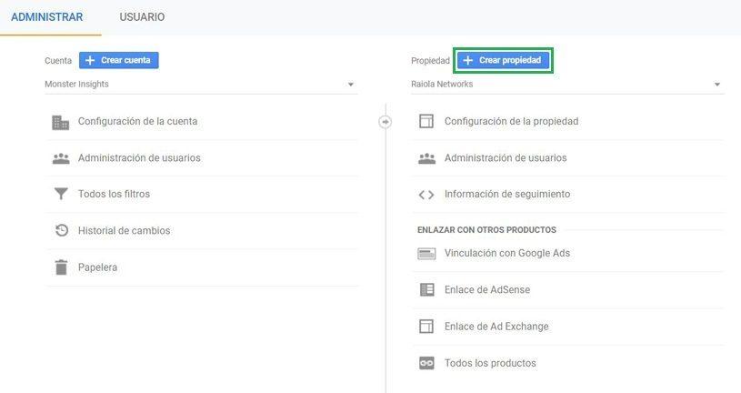 Recursos de Google Analytics