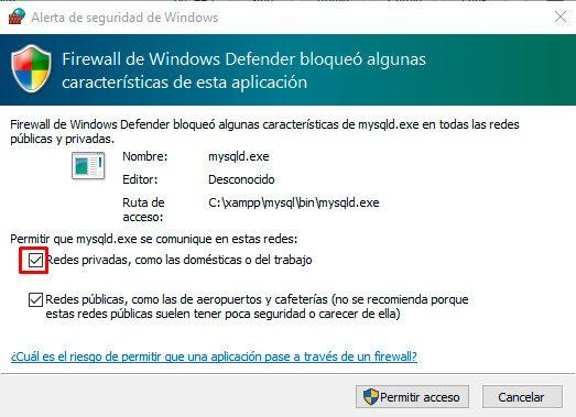 Advertencia-de-seguridad-windows-xampp
