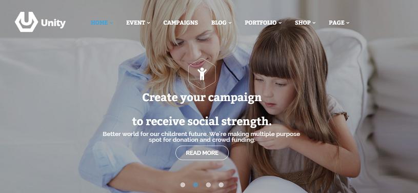 Unidad de Plantilla de Crowdfunding