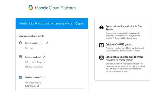 Datos en Google Cloud