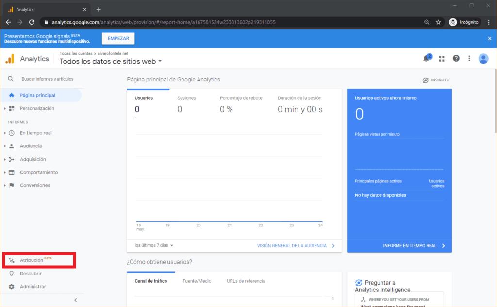 Google Analytics y WordPress