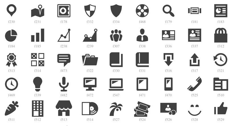iconos-wordpress
