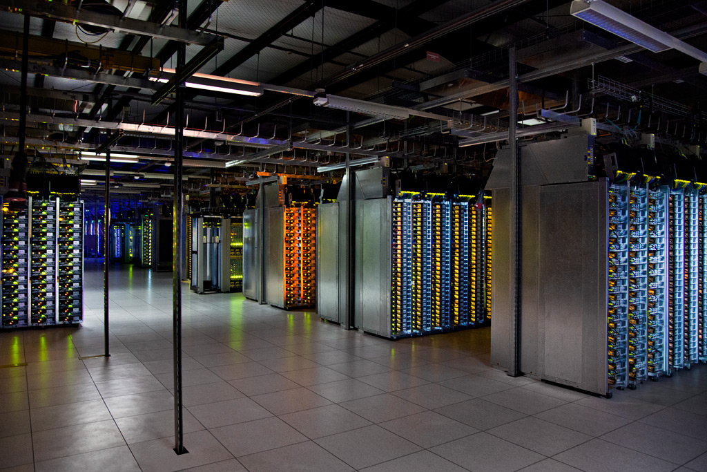 Servidor Linux en el sitio de Google